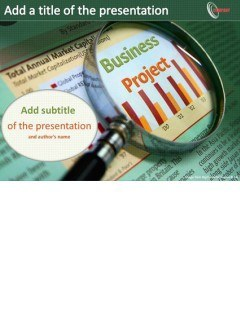 Business project Powerpoint templates