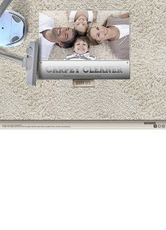 Carpet Cleaner Easy flash template