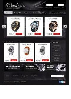 Watch store osCommerce