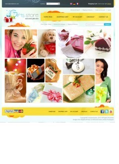 Gifts store osCommerce
