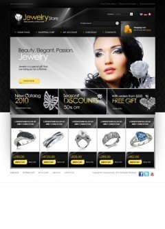 Jewelry store osCommerce