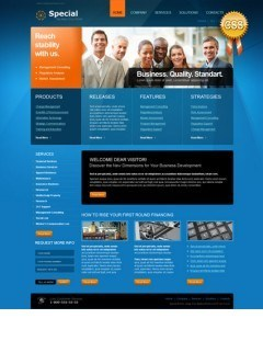 Special Solutions html dreamweaver template