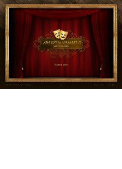 Dramatic Theater Easy flash template