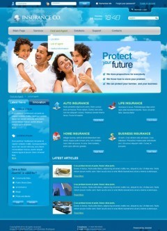 Insurance co. v2.5 Joomla template