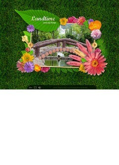 Landscape Design Easy flash template