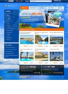 Travel Agency 2.3 osCommerce