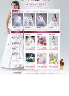 Wedding Store 2.3ver osCommerce