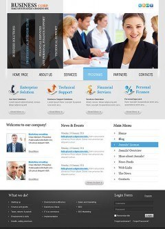 Business v2.5 Joomla template