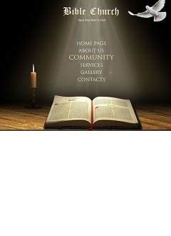 Bible Church Easy flash template