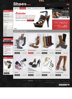Shoes Store 2.3ver osCommerce