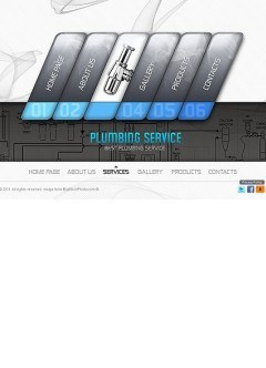 Plumber Service Easy flash template