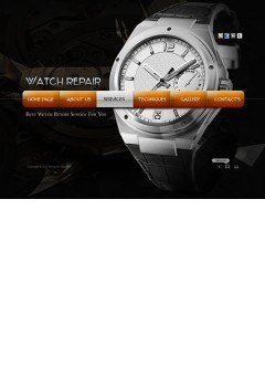 Watch Repair Easy flash template