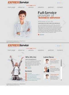 Express Business HTML5 template