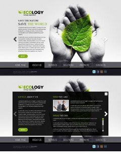 Ecology HTML5 template
