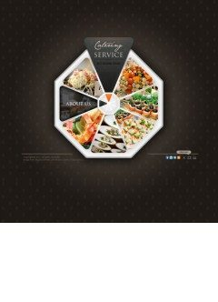 Catering service VideoAdmin flash