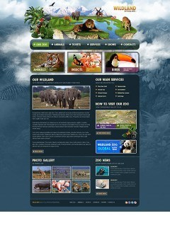 ZOO html dreamweaver template