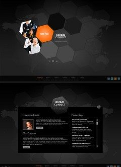 Communication Easy flash template