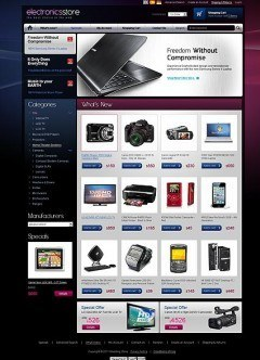 Electronic store 2.3ver osCommerce
