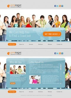 Recruiting Agency HTML5 template