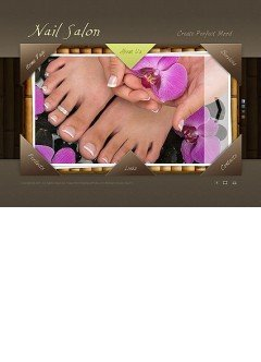 Nail Salon Easy flash template