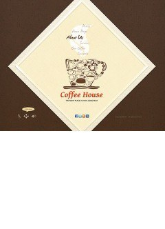 Coffee House Easy flash template