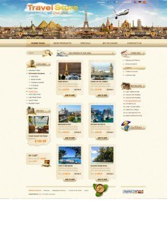Travel Agency 2.3ver osCommerce