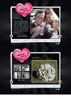 Our Wedding HTML5 template