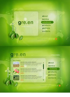 Green Energy Easy flash template