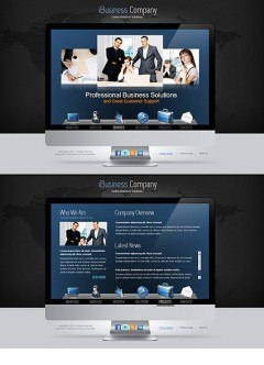 iBusiness HTML5 template