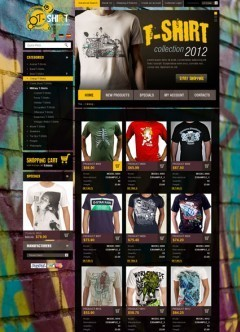 T-Shirts 2.3ver osCommerce