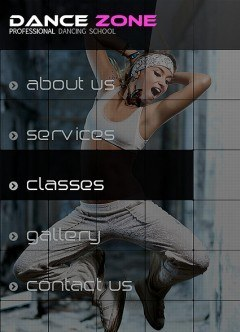 Dance Studio Facebook template