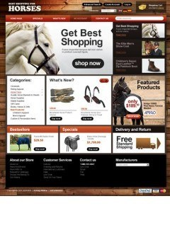 All for Horses 2.3ver osCommerce