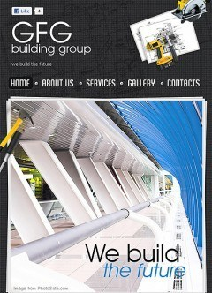 Building Group Facebook template