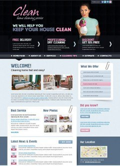 Cleaning html dreamweaver template