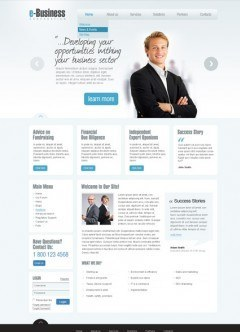 e-Business v2.5 Joomla template