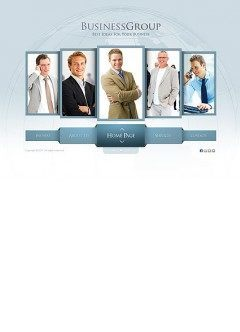 Five Leaders Easy flash template