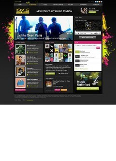 Music Station HTML template
