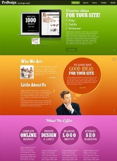Best Design HTML5 template