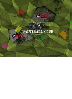 Paintball Club Easy flash template