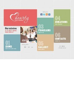 Charity Organization Easy flash template