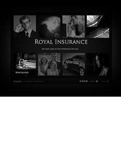 Insurance Company Easy flash template