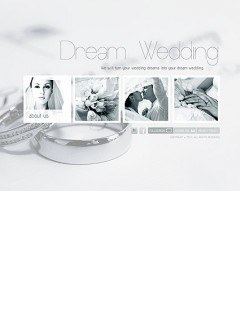 Wedding Planner Easy flash template