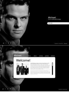 Personal Page Easy flash template
