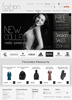Fashion v2.3 osCommerce