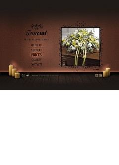 Funeral Service Easy flash template