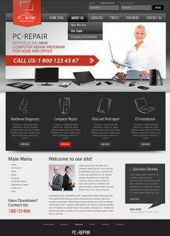 Computer Repair v2.5 Joomla template