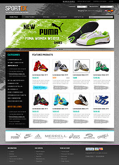 SporTex v2.3 osCommerce