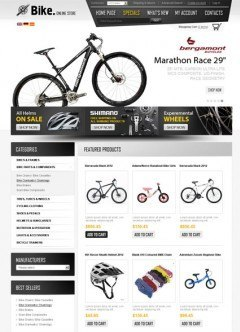 Bike Store v2.3 osCommerce