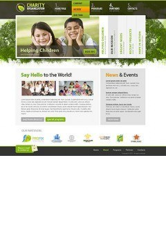 Charity Organization html dreamweaver template