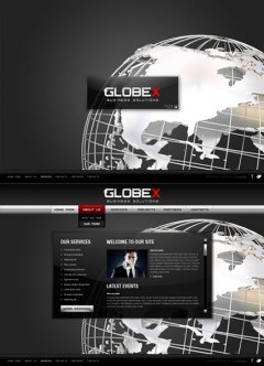 Global Business HTML5 template